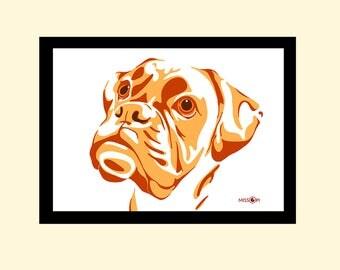 Bespoke Gift, Custom Pet Portrait, Digital Print, Animal Print, Pet Art, Art, Cat Art, Dog Print, Artwork, Digital Art