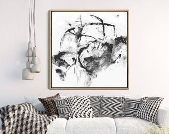 Abstract Art Print, Contemporary Art, Modern Wall Art, Black And White Art, Minimalist Art Print, Giclee Print, Home Decor, Wall Decor