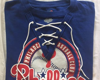 Lace Up Phillies Tee