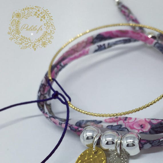 My Gold Bangle (plated) BY PALILO jute and a small cord colorful (of your choice)