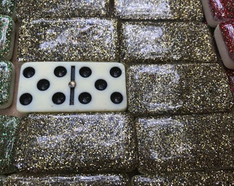 Custom Glitter Domino Sets