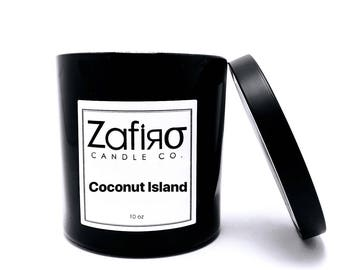 Coconut Island Soy Candle 10 oz