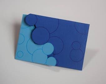 """Card """"Bubbles"""""""