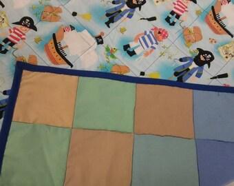 Pirates quilt/ playmat
