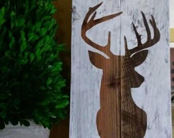 Deer (Buck) Handmade Sign