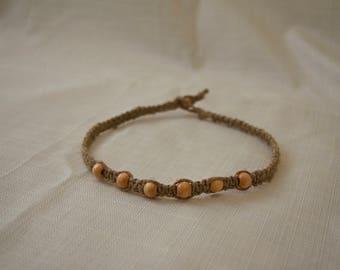 Hemp Macrame Necklace