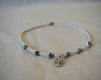 White Bamboo Necklace