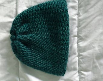 Small turquoise children's hat