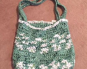 Handmade Crochet Purse Made From Recycled Plastic