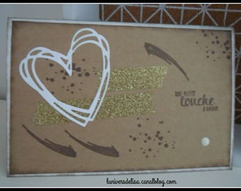 "Card ""a touch of love"""