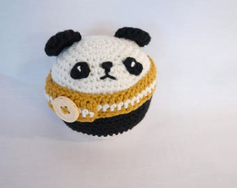 Panda - amigurumi-crochet