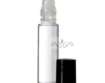 6 Glass Roll On Bottles - 10 ML