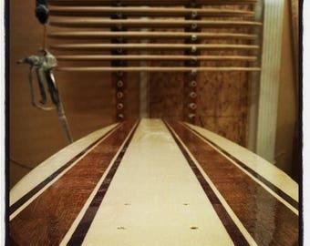 """Koastal 60"""" Handcrafted Longboard Cruising Skateboard Complete"""