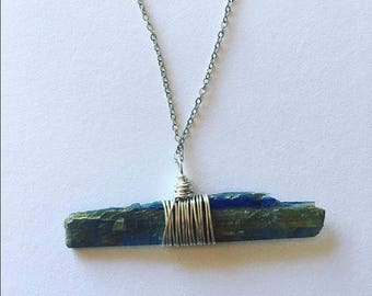Kyanite Healing Crystal Necklace