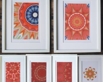 Set of 6 prints in Premium quality