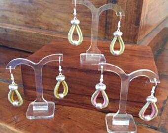 """""""Lasso"""" earrings"""