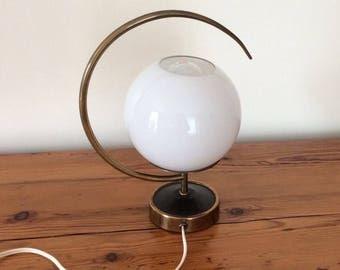 Vintage lamp 1950 s brass