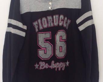 Fiorucci Half Button Sweatshirt Women