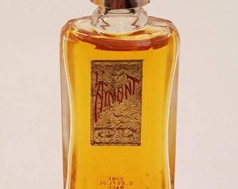 Vintage 1960's Coty L'aimant Parfum 0.25 oz