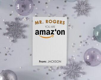 Custom/Printable You are Amazon Gift Card Holder