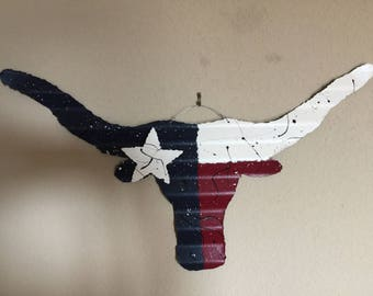 Texas Longhorn Flag