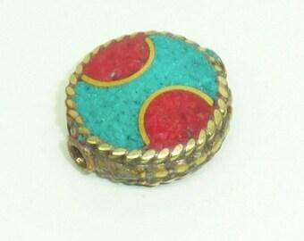 Ethnic Nepalese bead PE561