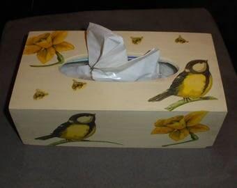 BIRD TISSUE BOX