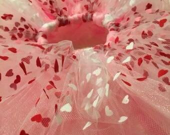 Pink Heart Tutu