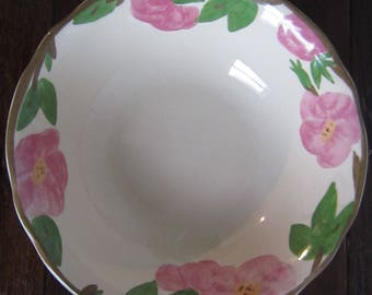 "Franciscan- Desert Rose Pattern 8"" round Vegetable Bowl!"