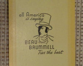 Vintage Beau Brummell Playing Cards Full Deck With Jokers 1940s