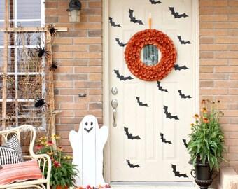 Bats Halloween Decals Stickers for windows, Doors, or Walls