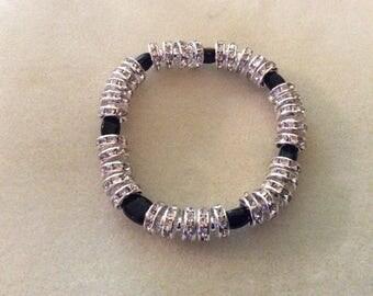 Silver Bling Bracelet
