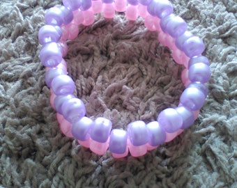 Purple and pink bracelet