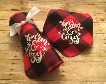 Buffalo Plaid Throa