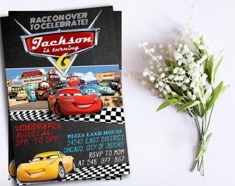Disney Cars Birthday Invitation. Invitations. Disney Cars pdf editable Invitation. Disney Cars Birthday Party. Disney Cars Party. DIY