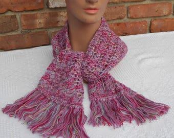 Hand Knitted Soft Alpaca Scarf