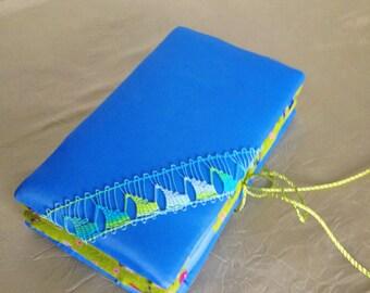 Needle case Nanduti - blue / Naaldenmapje Nanduti, naaldkant - blauw