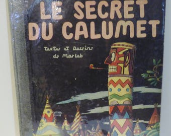Comic book EDITION original the Secret of the pipe by Marleb (Jacques Martin debut) 1947