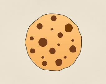 chocolate chip cookie svg, dxf, eps, png,  cookies svg, smart cookie svg, cookie clipart, svg files for cricut and Silhouette