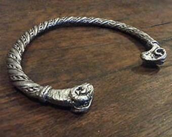 """Aries"" viking Celtic bracelet"