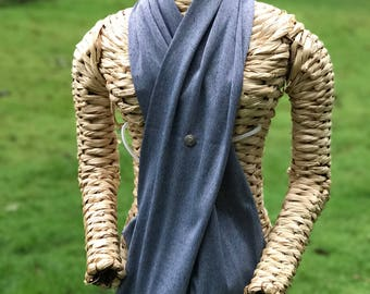 Surgical Drains Concealing Scarf