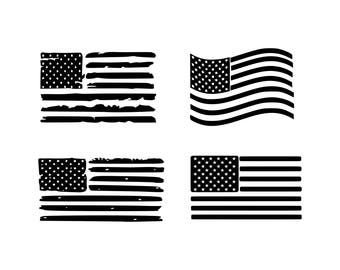 American flag svg Rainbow flag svg Distressed American Flag svg USA Flag svg 4th of July svg Patriotic svg Distressed flags svg png eps dxf