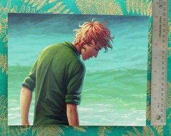 Enel Lanum at the Beach - The Silver Eye