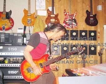 Eddie Van Halen at 5150 / RARE!