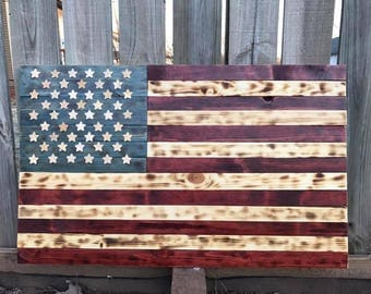 Rustic Handmade Flags