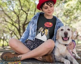 Engayged Lesbian Pride LGBTIQA Women's T-shirt