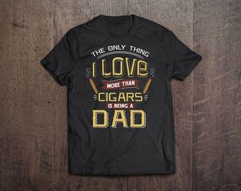 Cigar Gift for Dad | Unique Cigar Gifts | Cigar Gift For Him | Cigar Shirt | Cigar Gift For Men | Birthday Cigar Gift | Cigar Lovers