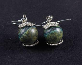 Seraphinite Earrings