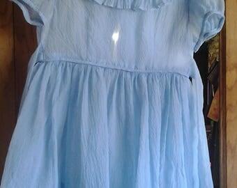 Girls slip cover dress