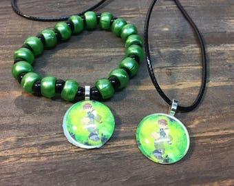 Ben 10 party favors.Ben 10 bracelet.Ben 10 necklace.Ben 10 jewelry.Ben 10 gift.Ben 10 birthday party
